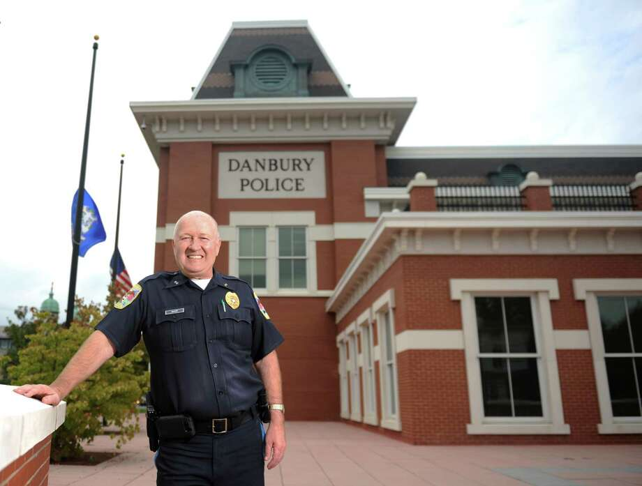 Danbury Police Chief Al Baker poses outside the police station in Danbury, Conn. Thursday, Sept. 11, 2014.  The police force does not reflect the city in terms of its race and gender, and police say that it probably never will. Photo: Tyler Sizemore / The News-Times