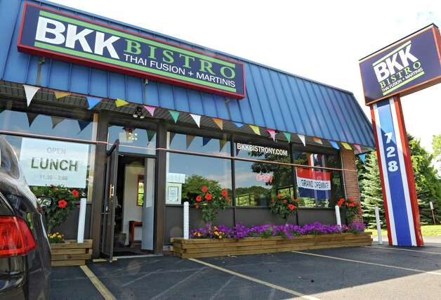 Exterior of BBK Bistro at 728 Loudon Rd. on Thursday, Aug. 14, 2014 in Latham, N.Y. (Lori Van Buren / Times Union) Photo: Lori Van Buren / 00028133A