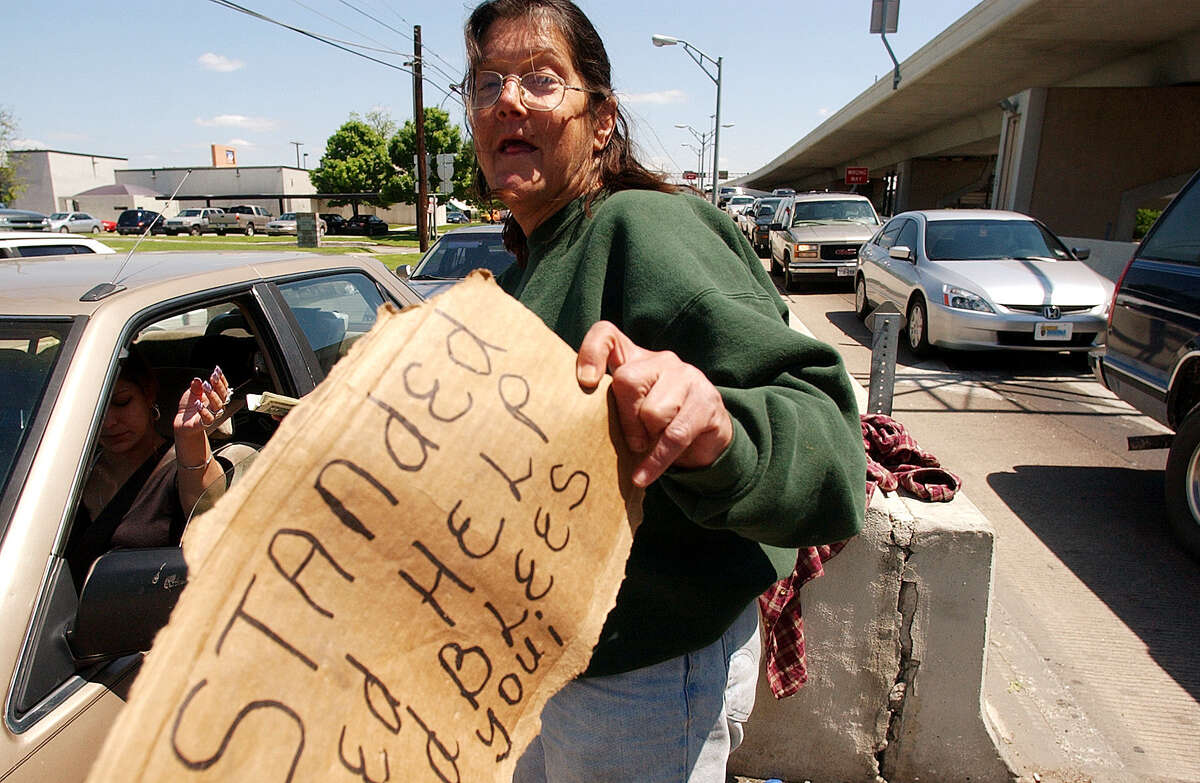 San Antonio Police Chief William McManus is pushing the City Council to make it illegal for people to give money or food to panhandlers.