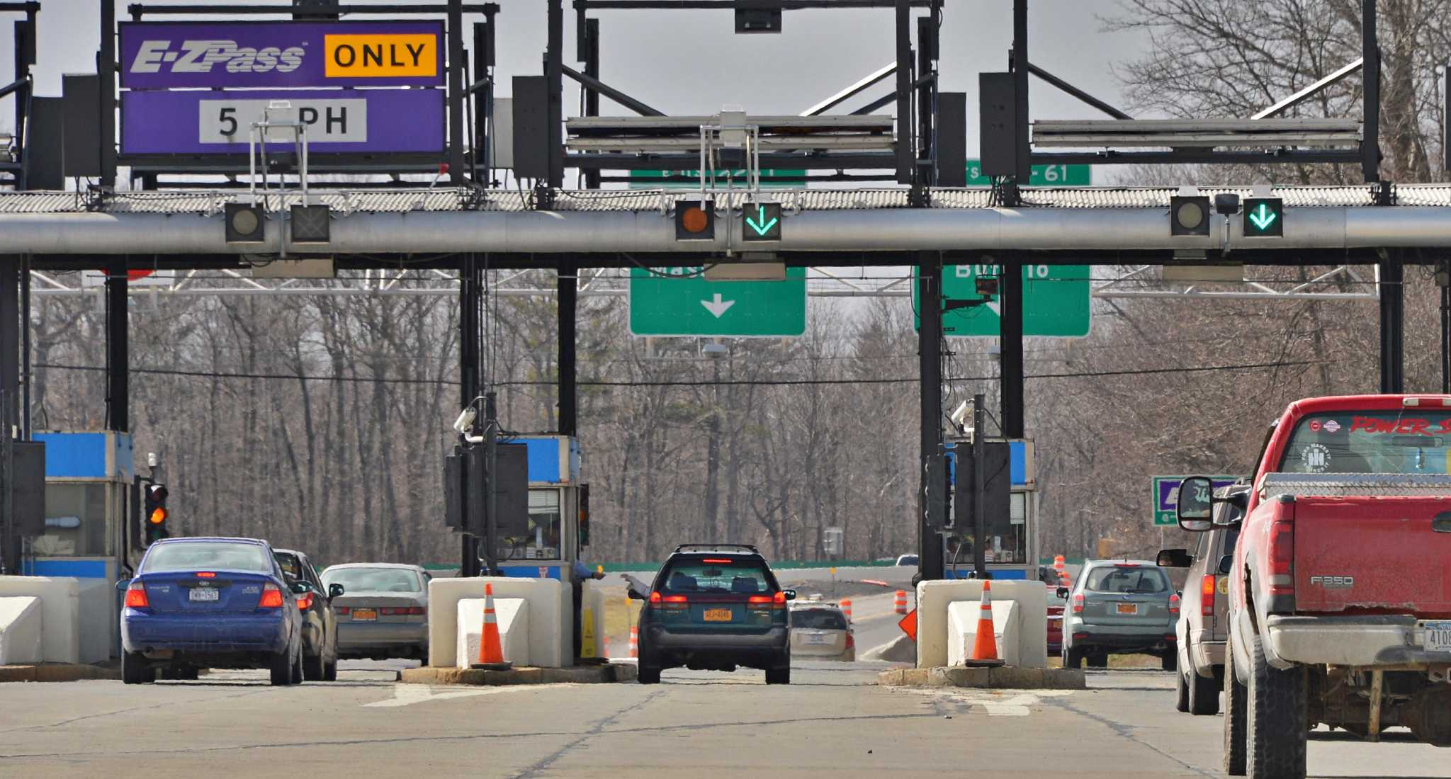 Thruway authority e zpass overcharged 35 000 motorists for Plaza motors albany ny