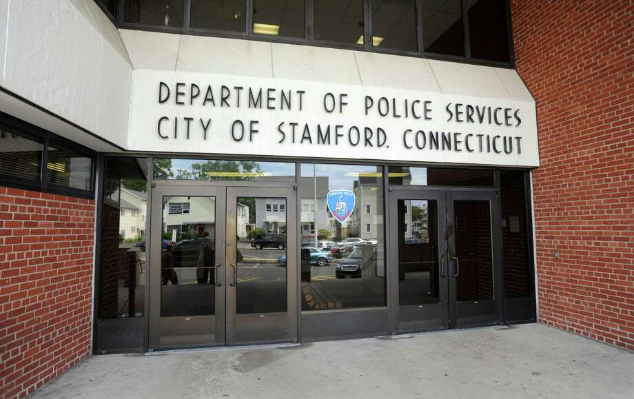 City of Stamford Police Station at 805 Bedford Street in Stamford, Conn. on Friday July 26, 2013. Photo: Cathy Zuraw / Stamford Advocate