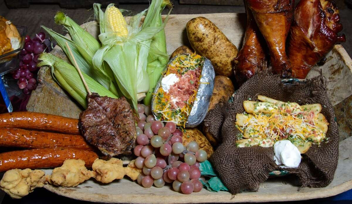 Photographed is an assortment of food that will available at the 2014 Texas Renaissance Festival.