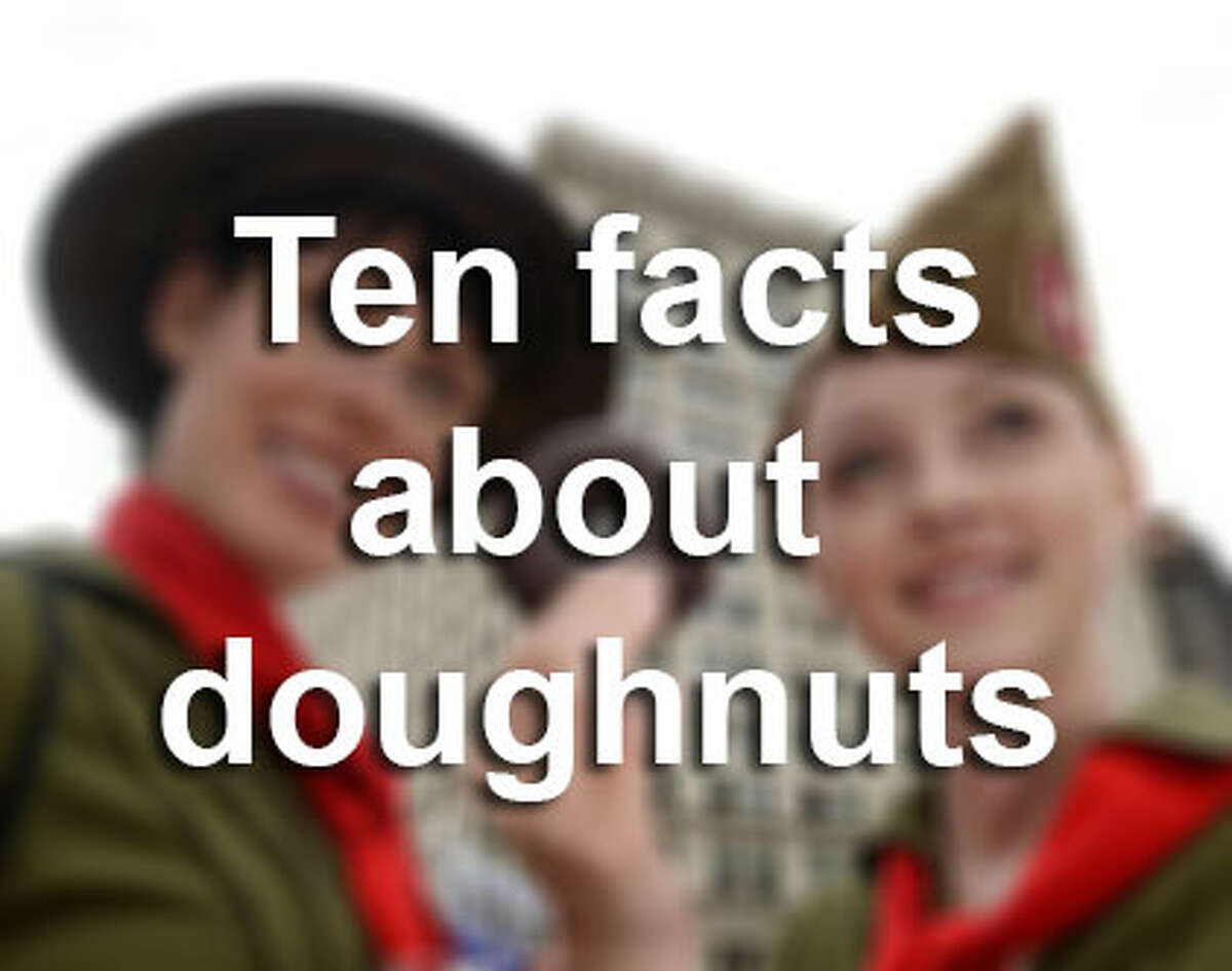 Everyone has a favorite type of doughnut, but what do you know about them besides that they're tasty? Browse through the gallery to see 10 facts about the sweet treat.