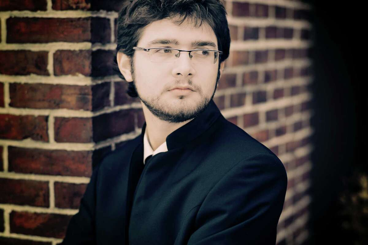 International pianist Roman Rabinovich will open the free Young Persons' Concert Series Saturday afternoon, Sept. 20, at the Pequot Library in Fairfield's Southport section.