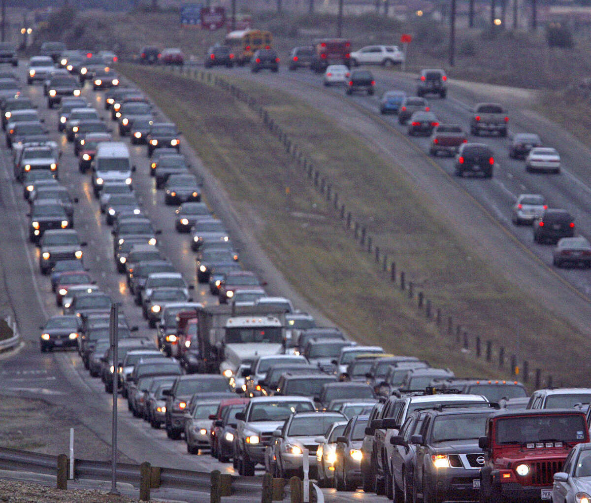 Without more transportation options, more than half of local roads will earn the worst rating for traffic congestion.