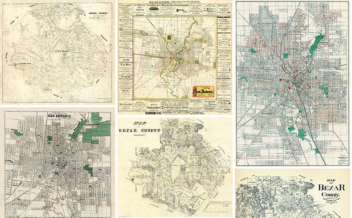 Maps dating back to the 1700s show how San Antonio, South Texas counties and the Lone Star State took shape over the years.
