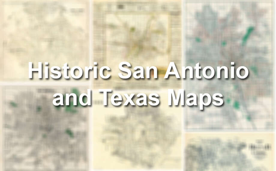 Historic San Antonio and Texas Maps Photo: Getty Images