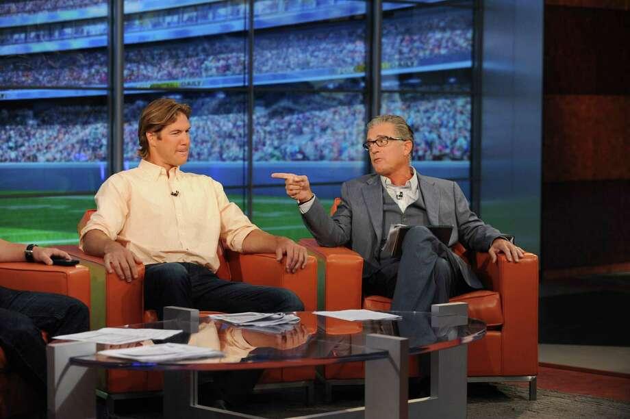 Scott Fujita and Mike Pereira (Fox Sports)