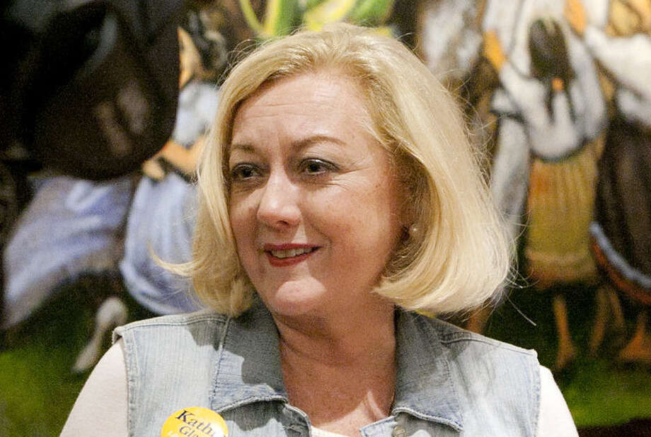 Kathie Glass, Libertarian candidate for governor, says the two-party system is corrupt. Photo: James Durbin, Associated Press / Midland Reporter-Telegram