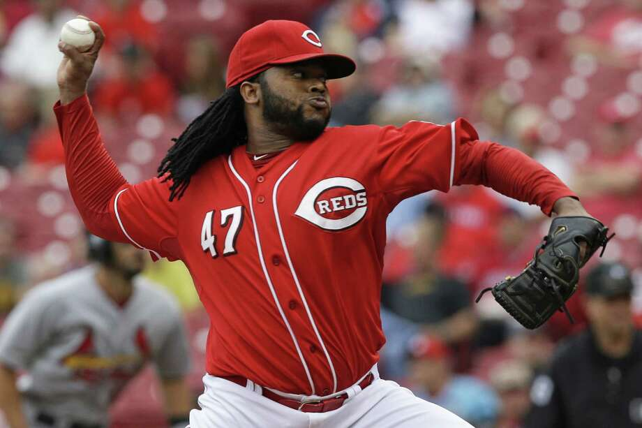 Cincinnati's Johnny Cueto handled St. Louis' lineup with ease in his eight scoreless innings Thursday. Photo: Al Behrman / Associated Press / AP