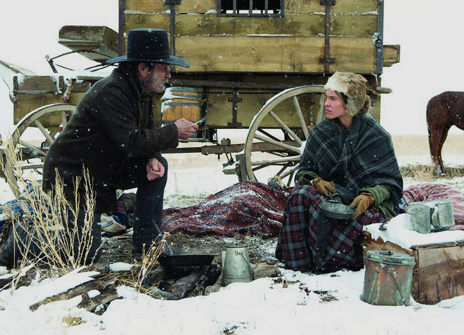 """Tommy Lee Jones and Hilary Swank star in """"The Homesman,""""one of the opening-night films at the Mill Valley Film Festival. Photo: Mill Valley Film Festival / ONLINE_YES"""
