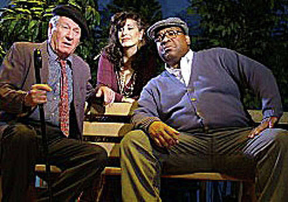 """""""I'm Not Rappaport"""" opens the Westport Community Theatre's 2014-15 season on Sept. 19. Here, cast members Fred Tisch, Deborah Burke and David Tate. Photo: Contributed Photo / Westport News"""