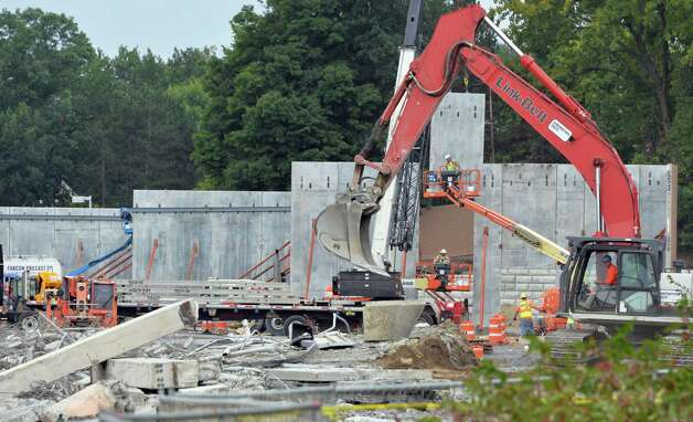 Construction gets under way in earnest for the new Walmart at the old Latham Circle Mall Thursday Sept. 11, 2014, in Colonie, NY.  (John Carl D'Annibale / Times Union) Photo: John Carl D'Annibale