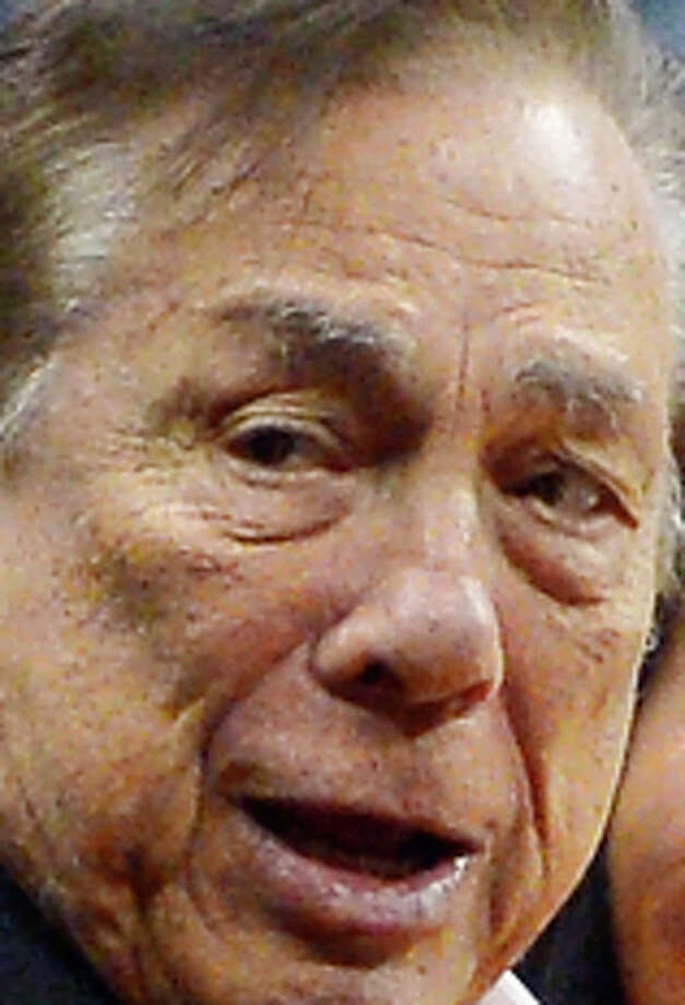 Donald Sterling, former Los Angeles Clippers owner. Photo: Mark J. Terrill, STF / Associated Press / AP
