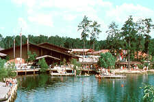 Early Wharf – The Woodlands Wharf and The Woodlands Inn and Conference Center (now The Woodlands Resort and Conference Center) were among the first developments in The Woodlands, located in the Village of Grogan's Mill.