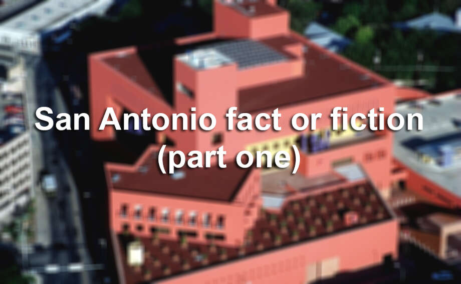 Think you're down on your San Antonio trivia? Here are 10 questions to test even the most seasoned Alamo City academic. Photo: San Antonio Express-News