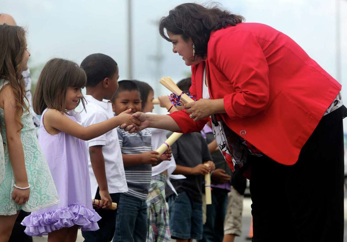 If you don't do so hot, you may want to start over and attend Pre-K 4 SA.Sources: San Antonio Express-News archives and research