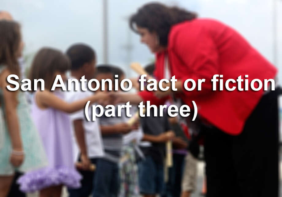 Think you're down on your San Antonio trivia? Here are more 10 questions to test even the most seasoned Alamo City academic. Photo: San Antonio Express-News / ©2014 San Antonio Express-News