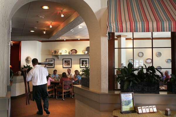 The Olive Garden at Stonestown in San Francisco, California, is the only one in the city on Thursday, May 31, 2012.