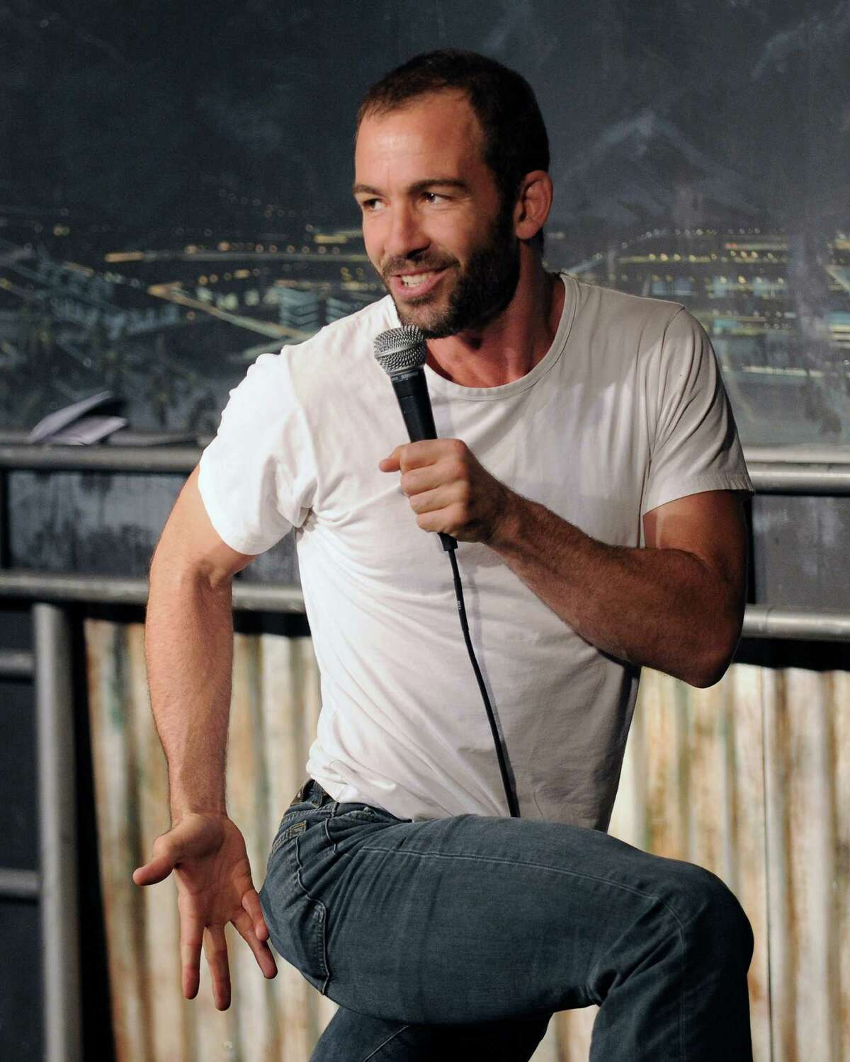 Comedian Bryan Callen tested positive for COVID-19 after performing in San Antonio.