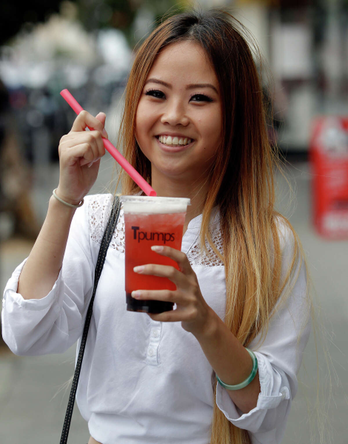 Tina: strawberry kiwi tea