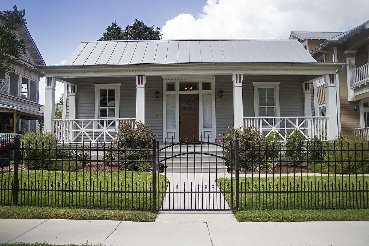 The 1,922-square-foot home was built in 1905. It has been rented since its renovation.