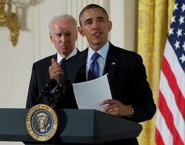 President Obama, accompanied by Vice President Joe Biden, spoke in the East Room of the White House last year before signing a memorandum creating a task force to respond to campus rapes.