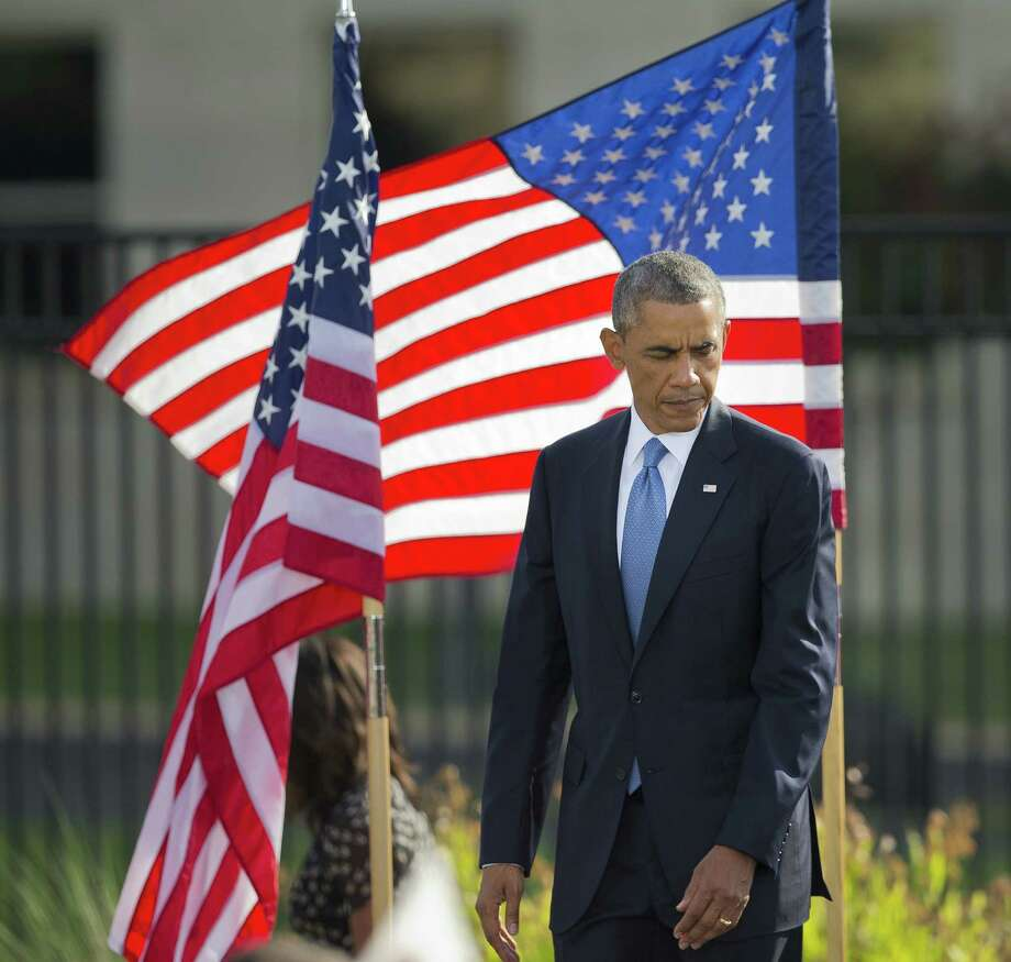 President Barack Obama finally has a strategy for dealing with the Islamic State, but it has arrived late and with questionable commitment. Photo: Associated Press / AP