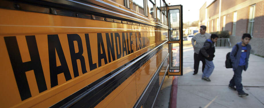 The Harlandale Independent School District board has yet to release details of a proposed bond issue tentatively scheduled to go before voters in the spring of 2015. Photo: Express-News File Photo / SAN ANTONIO EXPRESS-NEWS