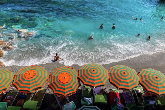 During a recent cruise with Azamara Club Cruises, one excursion included a nine-hour tour of Cinque Terre in Italy. The beach at Monterosso is shown here.