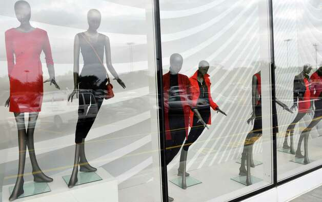 Window displays at the new Lord & Taylor store at Crossgates Mall Thursday Sept. 11, 2014, in Albany, NY.  (John Carl D'Annibale / Times Union) Photo: John Carl D'Annibale