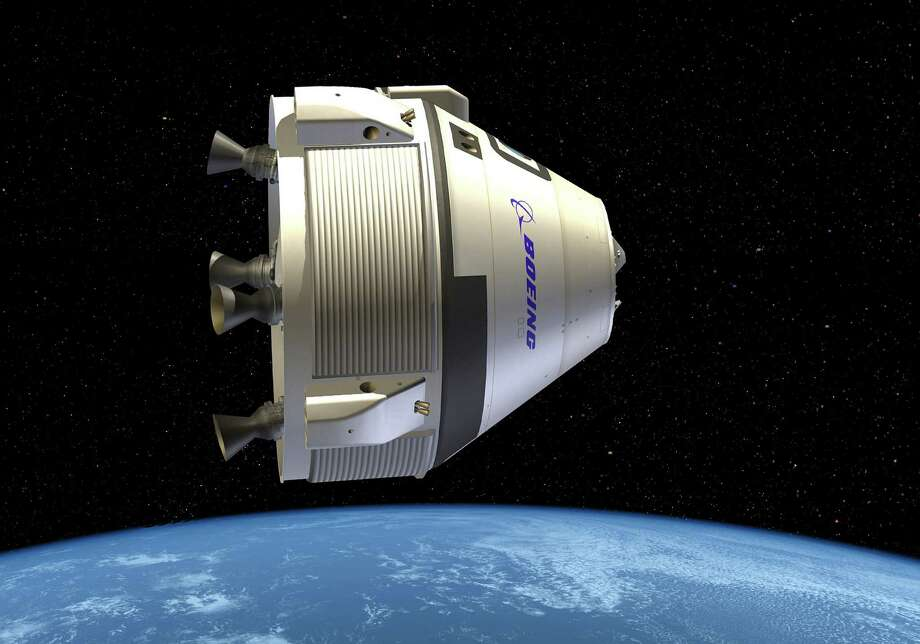 This illustration shows the Crew Space Transportation (CST)-100, which echoes the '60s Apollo lunar capsules. Photo: Boeing / Boeing