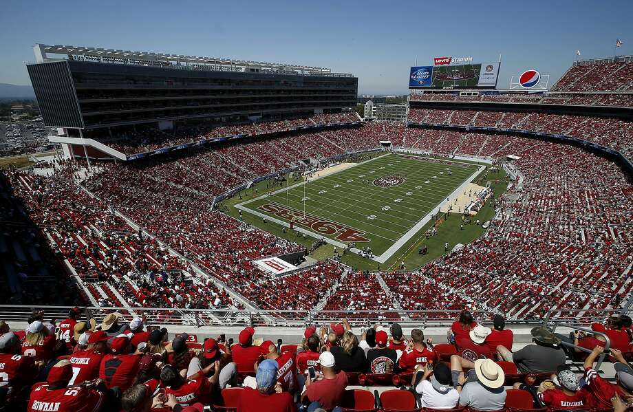 Dignity Health owns one of the Levi's Stadium luxury suites, which go for at least $2.5 million. Photo: Tony Avelar, Associated Press