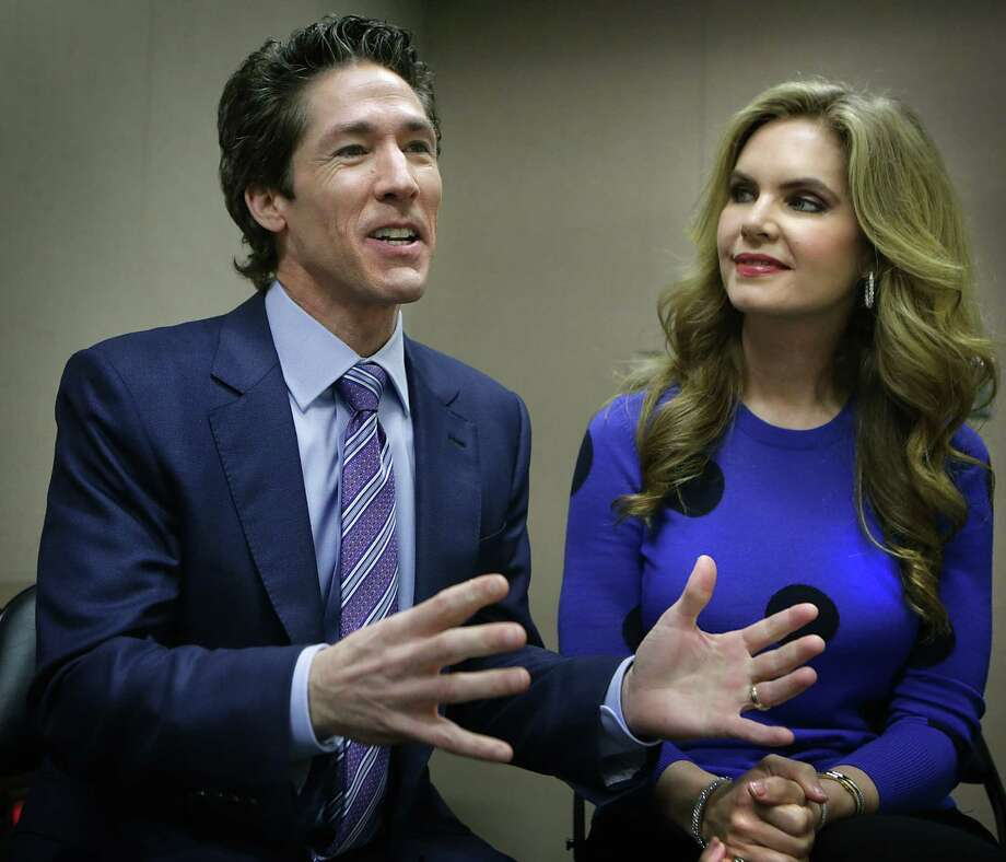 The prosperity theologists' idea that worship will result in health, wealth and happiness is central to Joel and Victoria Osteen's message, and that rubs some people the wrong way. Photo: Express-News File Photo / © 2012 San Antonio Express-News