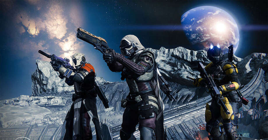 """Destiny"" is the most hyped video games of 2014. The futuristic first-person shooter offers a vast gaming experience and might go down as the best video game of the year. Photo: Photo Courtesy Of Activision"