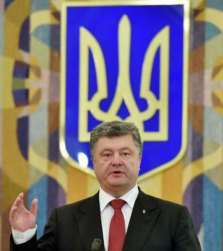 Ukrainian President Petro Poroshenko has been trying to generate a sense of momentum for a lasting truce in the rebellious eastern region. Photo: Sergei Supinsky / Getty Images / AFP