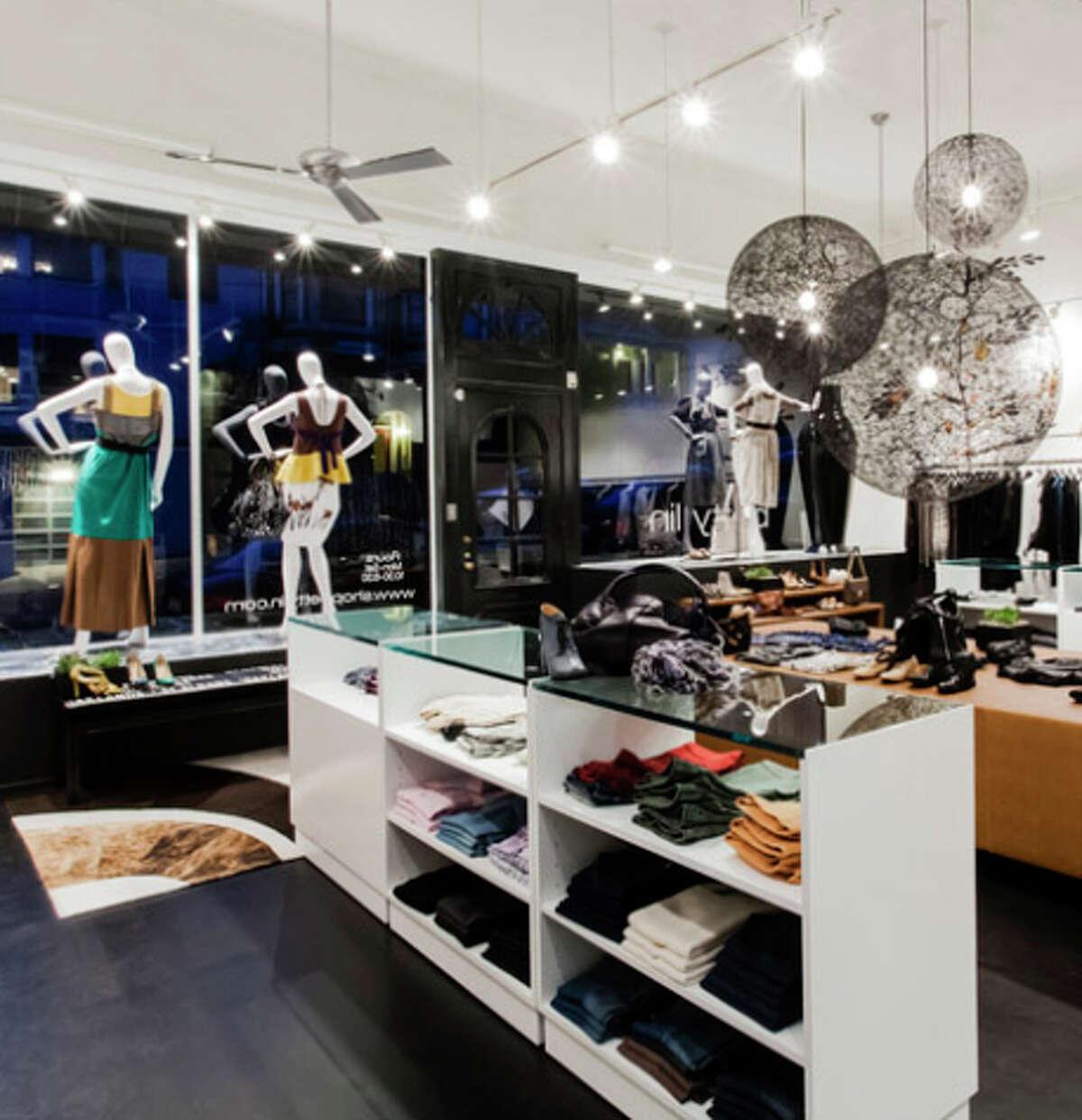 Presidio Heights fashion-forward boutique for women Betty Lin.