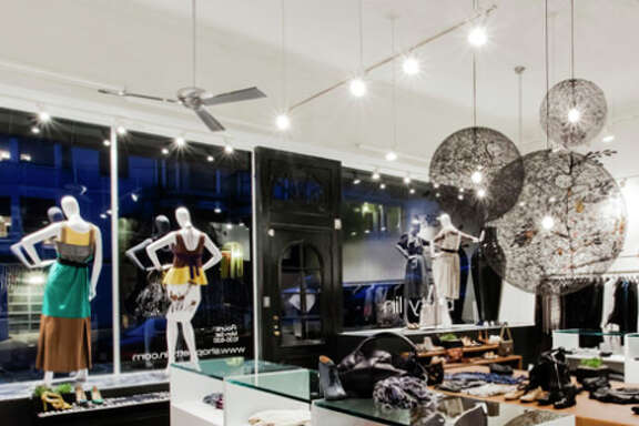 Presidio Heights fashion-forward boutique for women Betty Lin.