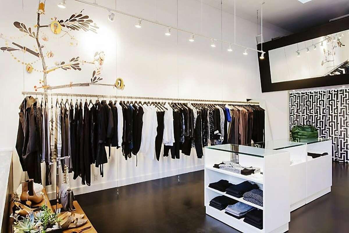 Betty Lin is a women's clothing store on Sacramento Street.