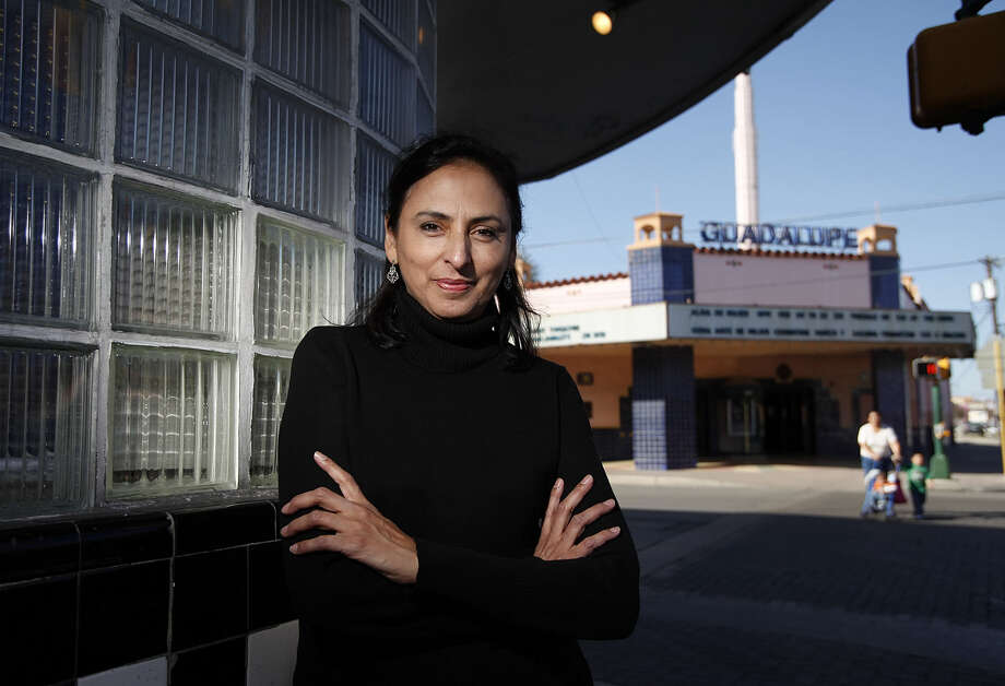 Patty Ortiz has left as director of the Guadalupe Cultural Arts Center. She will be replaced by interim director Pedro Rodriguez, who held the job from 1983 to 1998. Photo: Kin Man Hui / San Antonio Express-News / kmhui@express-news.net