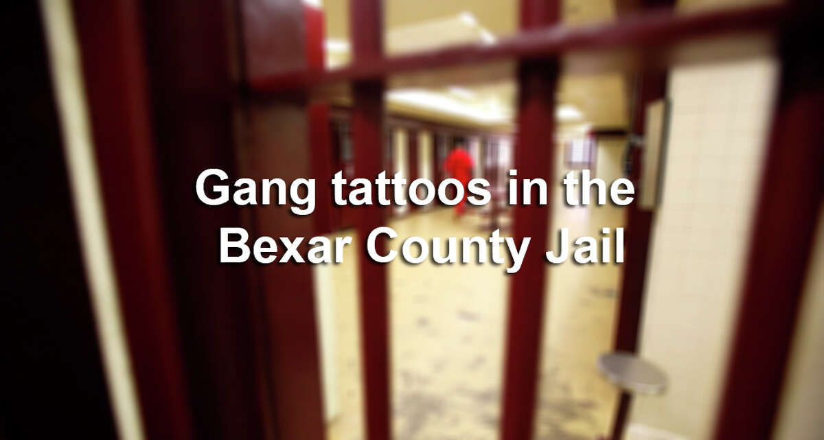 The following photos, provided by the Bexar County District Attorney's Office, identify tattoos used by gangs to demonstrate their affiliations.