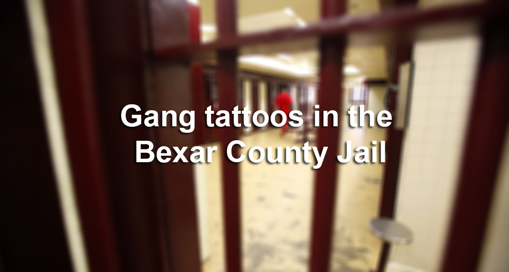 Gang Tattoos In The Bexar County Jail San Antonio