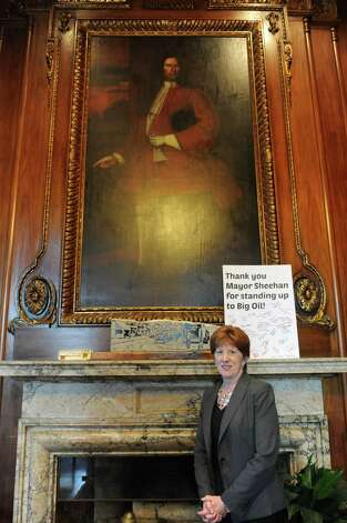 Mayor Kathy Sheehan speaks regarding the state of the arts in Albany  Thursday, Sept. 4, 2014, at her office in Albany, N.Y. (Michael P. Farrell/Times Union) Photo: Michael P. Farrell / 00028452A