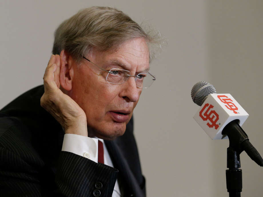 Bud Selig says he can't remember baseball's last domestic violence case, but there have been several during his tenure. Photo: Jeff Chiu, STF / Associated Press / AP