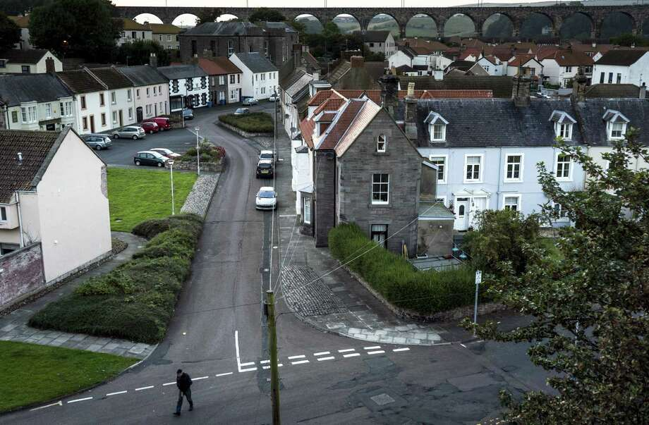 The English town of Berwick-Upon-Tweed is not happy about the possibility of Scotland voting in favor of independence. Photo: Andrew Testa / New York Times / NYTNS