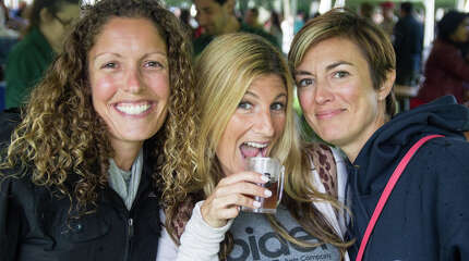 The first annual CT on Tap beer festival was held at the Ives concert Park in Danbury on September 13, 2014. The event featured beers from over 120 craft breweries. Were you SEEN?