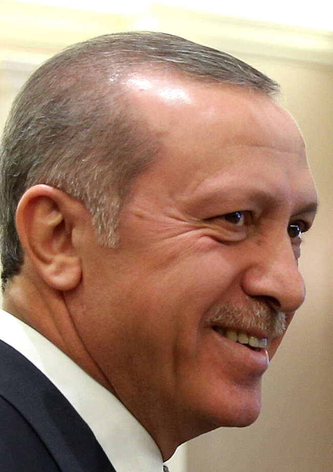 "Turkish President Recep Tayyip Erdogan's discussion was described as ""sensitive."" / Turkish Presidency"