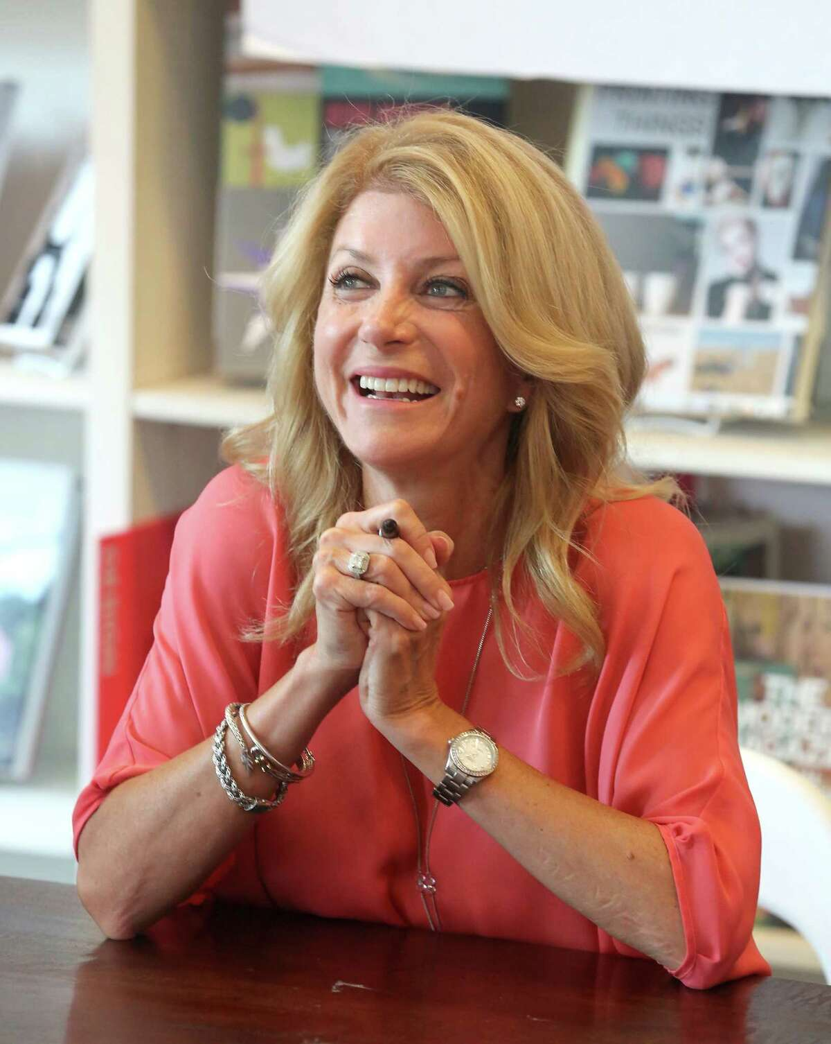 """Wendy Davis is vowing to """"give all Texans a voice in their future."""""""