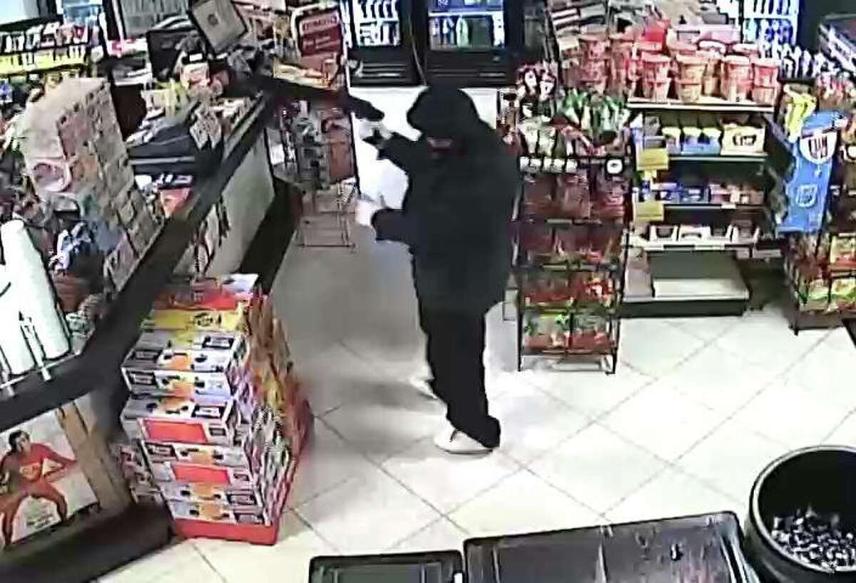 A gunman demanded money at a family-owned convenience store on Scranton Street in southeast Houston Friday night.