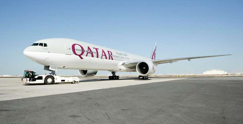 Qatar Airwayswill be the first airline to adopt the new GlobalBeacon product that tracks planes around the world. / Email - Jason Baum